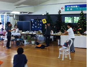 社会福祉法人日本聴導犬協会を支援する会が主催するガーデンチャリティーバザー