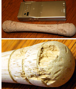 ドギーマンの木製のイヌ用おもちゃ
